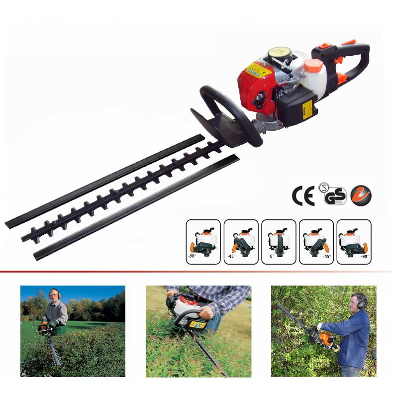 This powerful and versatile hedge Trimmer is easy to start and get the job done quickly